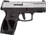 Taurus G2S Double Action Only Semi-Auto Pistol 9MM