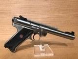 Ruger Mark III KMKIII Model512 Rimfire Pistol 10103, 22 Long Rifle - 2 of 5