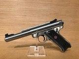 Ruger Mark III KMKIII Model512 Rimfire Pistol 10103, 22 Long Rifle - 1 of 5