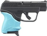 Ruger LCP II .380 ACP Semi-Auto Pistol, 6-RD, Hogue Turquoise