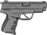 Springfield XDE, Semi-automatic, Double Action/Single Action, Compact, 9MM