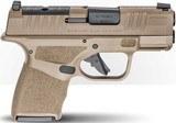 Springfield Hellcat Semi-Auto Optics Ready Pistol HC9319FOSP, 9mm