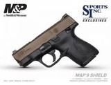 Smith & Wesson M&P Shield 9mm Midnight Bronze **LIMITED EDITION** #13299