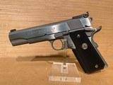 colt gold cup trophy pistol o5070x, 45 acp