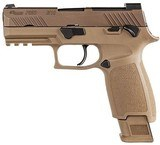 "Sig P320 M18 Pistol 320CA9M18MS2M, 9mm, 3.9"", Coyote Grip, Coyote PVD Finish, 17 Rds"