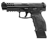 """Heckler & Koch VP9L Optics Ready Pistol 81000591, 9mm Luger, 5"""", Black Grip, Black finish, 20 Rds"""
