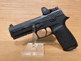 Sig P320 Pistol w/Romeo1 Reflex Sight 320F9BSSRX, 9mm