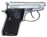 "Beretta 21 Bobcat Semi-Auto Pistol J212500, 22 LR, 2.4"", Synthetic Grip, Stainless Finish, 7 Rd"
