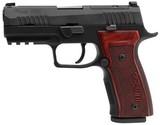 "Sig P320 AXG Classic Pistol 320AXGCA9CWCLR2, 9mm, 3.9"", Hogue Walnut Grip, Black Finish, 17 Rds - 1 of 1"