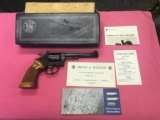 Smith & Wesson K-38 Model 14-3 with original box, packing, and paperwork