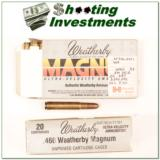 Weatherby 460 Ammo full box 500 Grain Solid - 1 of 1