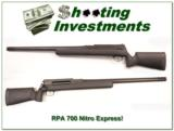 Rangemaster Precision Arms RPA Custom Shop 700 Nitro Express! - 1 of 4