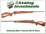 Weatherby Mark V Deluxe German 300 XX Wood near new! - 1 of 4