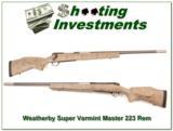 Weatherby Mark V Super Varmintmaster 223 Rem looks new! - 1 of 4