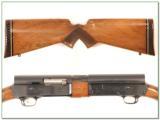 Browning A5 Magnum 12 Gauge 71 Belgium Blond VR - 2 of 4