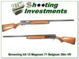 Browning A5 Magnum 12 Gauge 71 Belgium Blond VR - 1 of 4