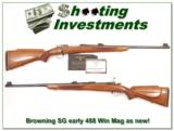 Browning Safari Grade in 458 Winchester Magnum - 1 of 4