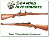 Ruger Model 77 International hard to find 243 Red Pad - 1 of 4