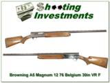 Browning A5 Magnum 12 Gauge 76 Belgium VR - 1 of 4