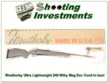 Weatherby Mark V Ultra Lightweight 240 Wthy Mag in Box! - 1 of 4