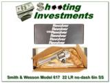 Smith & Wesson Model 617 No Dash 22 LR 6in Stainless - 1 of 4