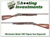 Winchester 1897 Pigeon Gun grade 12 GA Engraved 1917! - 1 of 4