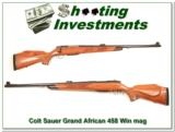 Colt Sauer Grand African 458 Win Mag as new! - 1 of 4