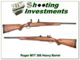 Ruger Model 77 308 Carbine Heavy Barrel - 1 of 4