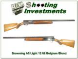 Browning A5 Light 12 66 Belgium Blond! - 1 of 4