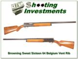 Browning A5 Sweet Sixteen 64 Belgium VR Modified! - 1 of 4