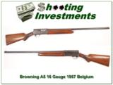Browning A5 16 Gauge 57 Belgium 28in Modified - 1 of 4