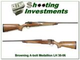 Browning A-bolt 30-06 LH Medallion - 1 of 4