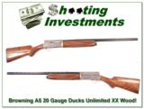 Browning A5 Light 20 Ducks Unlimited XX Wood! - 1 of 4