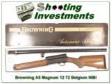 Browning A5 72 Belgium Magnum 12 NIB Unfired! - 1 of 4