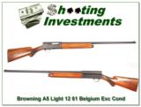 Browning A5 Light 12 61 Belgium Exc Cond! - 2 of 4