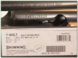 Browning T-bolt 22LR Limited Run Maple Stock NIB - 4 of 4