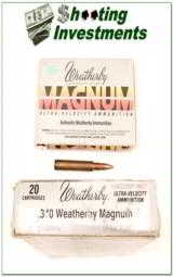 Weatherby factory loaded ammo 340 WThy 225 grain - 1 of 1