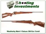 Weatherby Mark V Deluxe 300 Wthy Mag Exc Cond! - 1 of 4