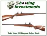 Sako Vixen L461 222 Magnum Bofer Steel Exc Cond! - 1 of 4