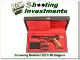 Browning Medalist 22 Auto Exc in case - 1 of 4