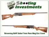 Browning BAR Mark II Safari 7mm Rem Mag near new! - 1 of 4