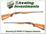 Browning 22 Auto SHORT 61 Belgium - 2 of 4