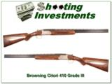 Browning Citori Grade III 410 .410 as new! - 1 of 4