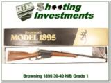 Browning 1895 30-40 Krag Unfired in box! - 1 of 4