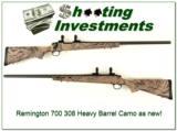 Remington Model 700 Varmint 308 Win Camo Exc Cond! - 1 of 4