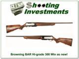 Browning BAR High Grade 300 Win Mag as new! - 1 of 4