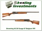 Browning A5 Magnum 20 71 Belgium 28in VR Mod - 1 of 4