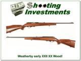 Weatherby Mark XXII Semi-auto early gun XX Wood! - 1 of 4