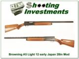 Browning A5 Light 12 28in Vent Rib Modified! - 1 of 4