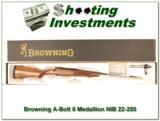 Browning A-bolt II Medallion 22-250 Rem last ones! - 1 of 4